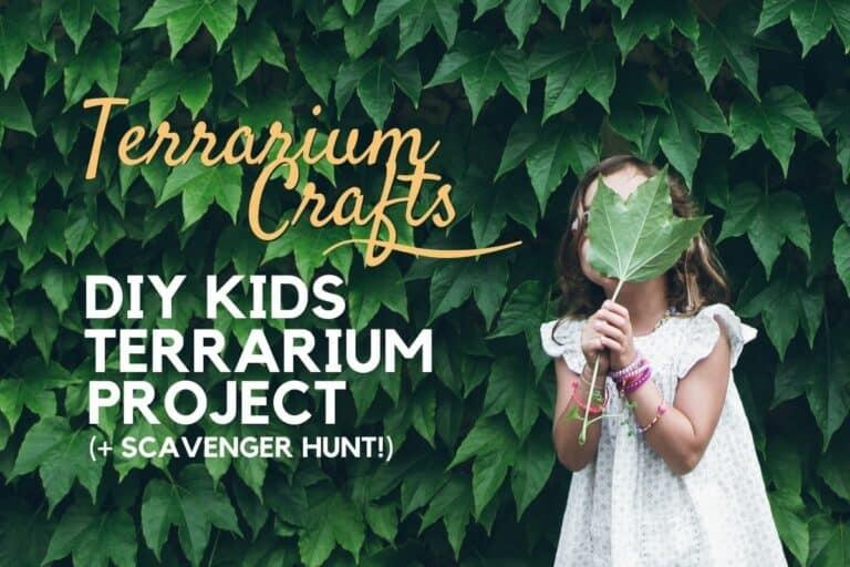 DIY Kids Terrarium